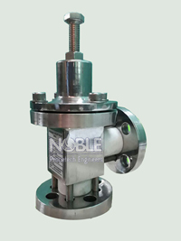 Highly Corrosive Gas Pressure Relief Valve