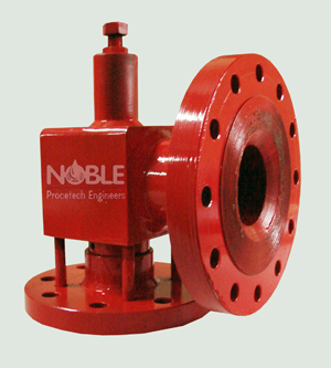 Solvent Safety Relief Valve