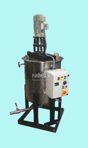 Tank Mounted Mixer Machine